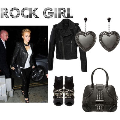 Stars Outfit # 2: Rock Girl