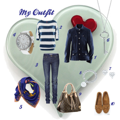 My Outfit - Navy Style