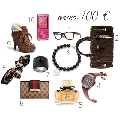 Cristmas Gifts # 2: Over 100 €