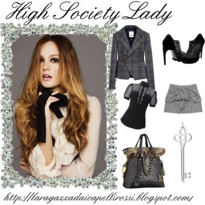 High Society Lady