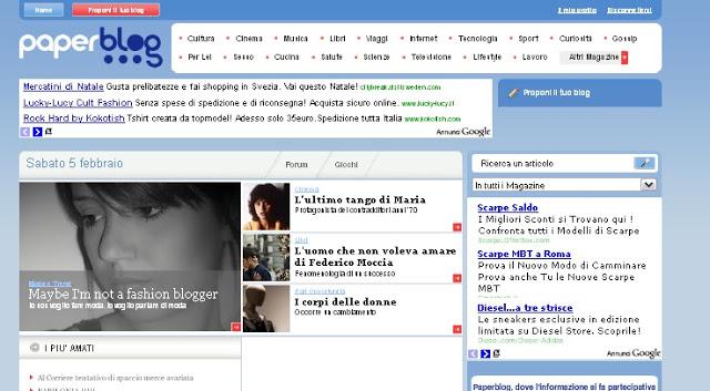 La ragazza dai capelli rossi on Paperblog front-page!