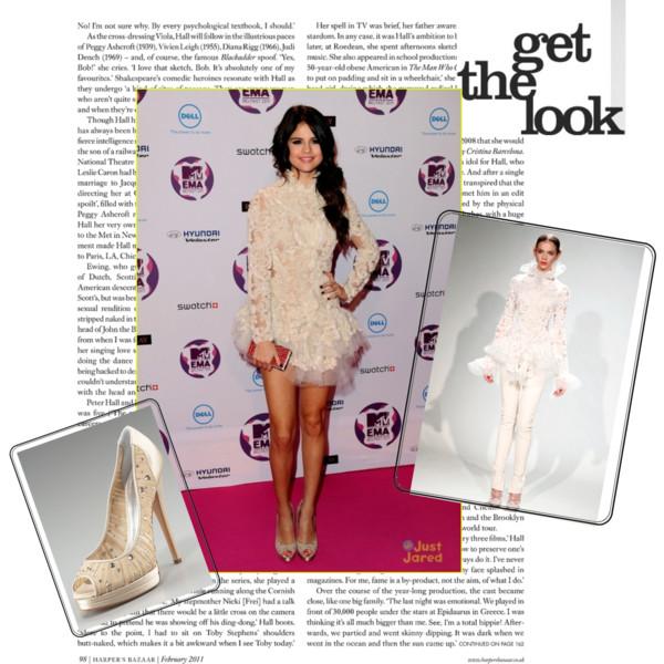 STARS OUTFIT: Selena Gomez @ EMA 2011