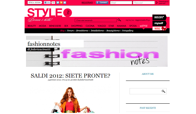 my article on style.it