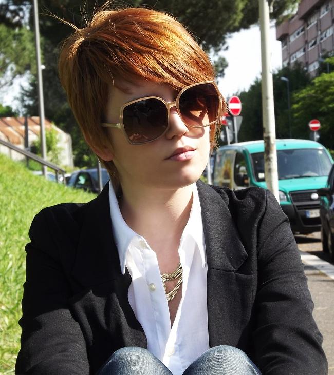 La ragazza dai capelli rossi - Fashion blogger