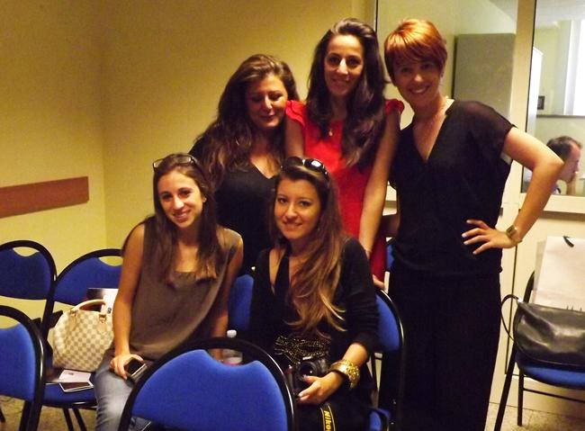 miss italia backstage