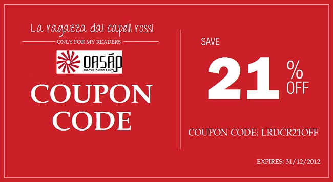 Oasap Coupon Code