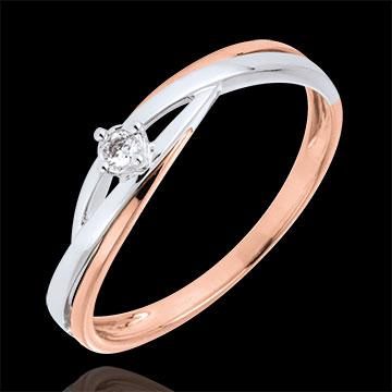anello solitario Daria