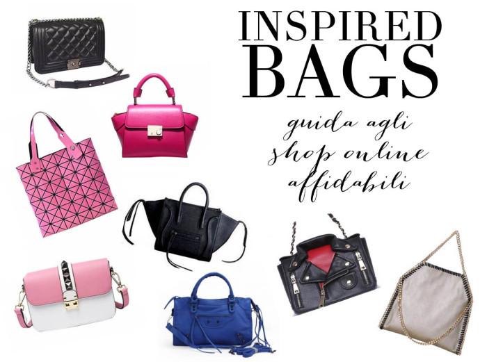 Borse inspired: tutti i modelli e la lista degli shop online