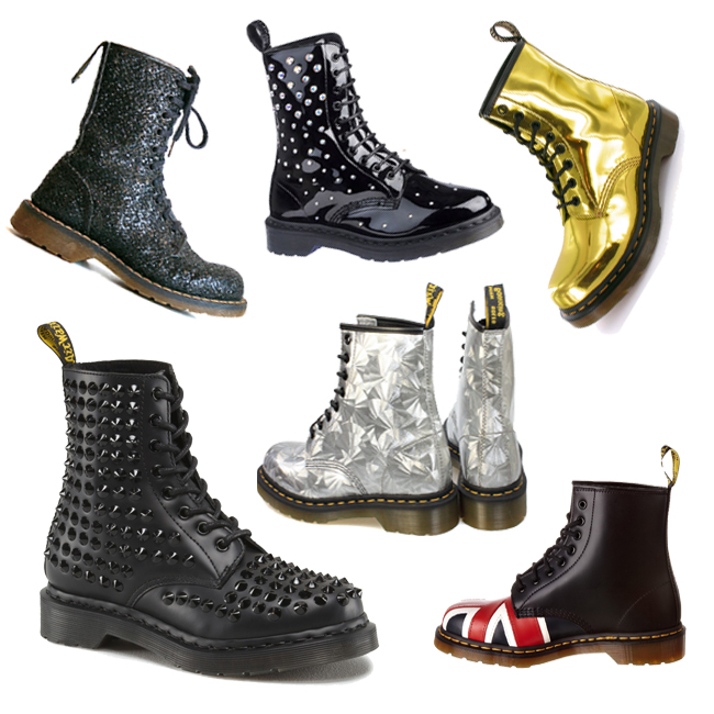 trends: Dr. Martens boots