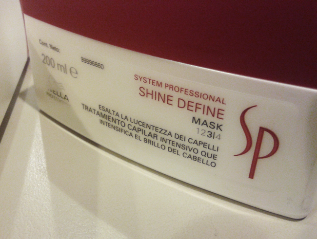 wella shine define