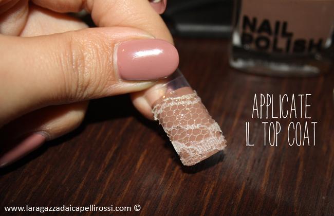 tutorial unghie merletto