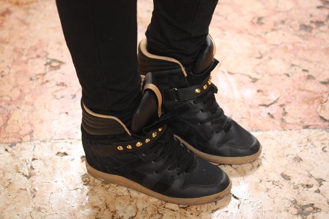Zara wedges sneakers
