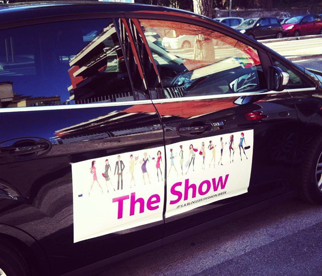 The Show It's a Blogger fashion week