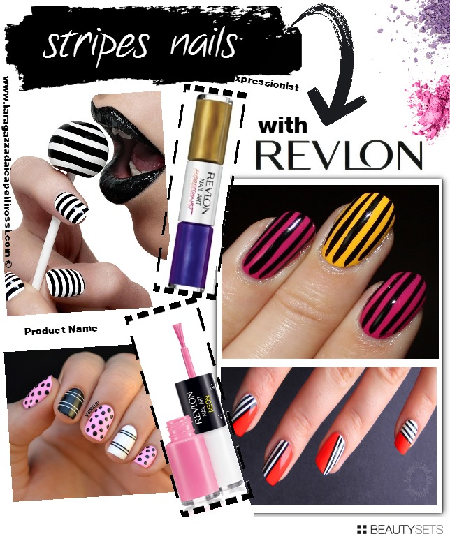 Beautysets - NAILS STRIPES