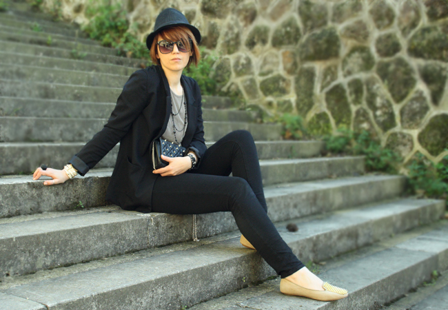Fashion blogger Federica Cimetti