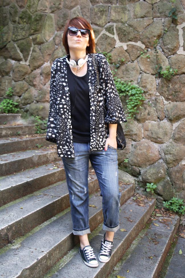 La Ragazza dai Capelli Rossi, Fashion Blogger, Outfit, Look, Puro, Bijoux MOA Paris, Federica Cimetti, Falabella Stella McCartney