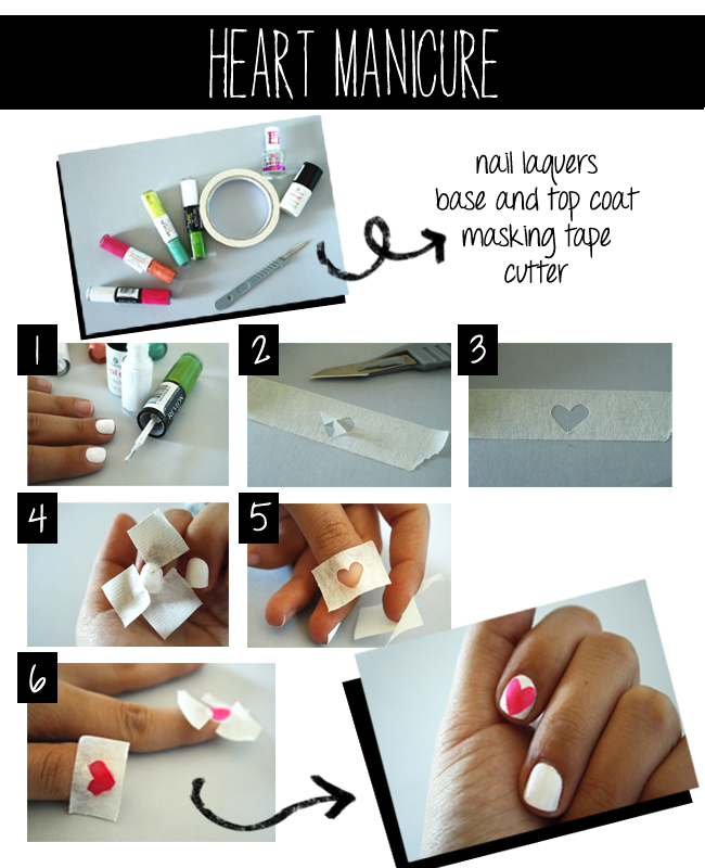 Tutorial Heart Manicure