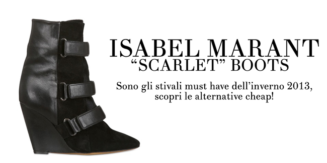 Scarlet boots