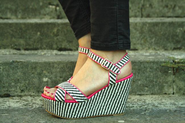 Sandali flatform Arian