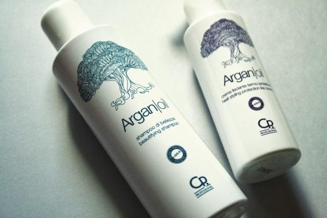 Argan Oil Shampoo e Crema Lisciante