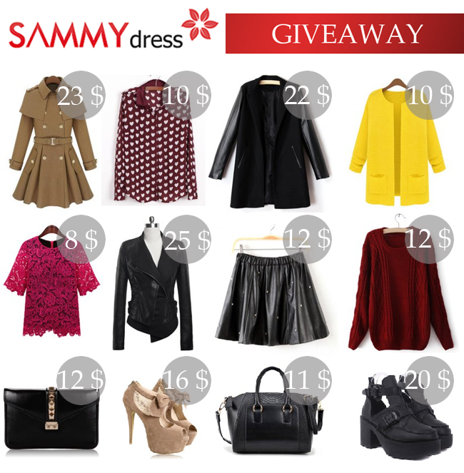 GIVEAWAY (WORLDWIDE): SAMMY DRESS GIFTCARD