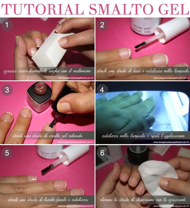 come si mette il gel sulle unghie