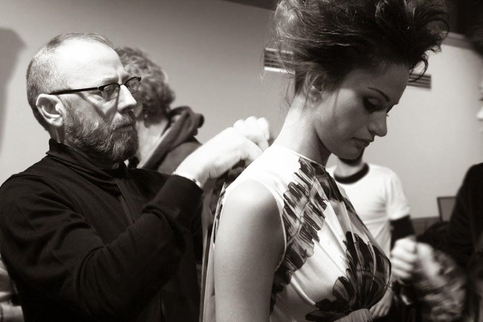 AltaRoma 2014 Nino Lettieri Backstage