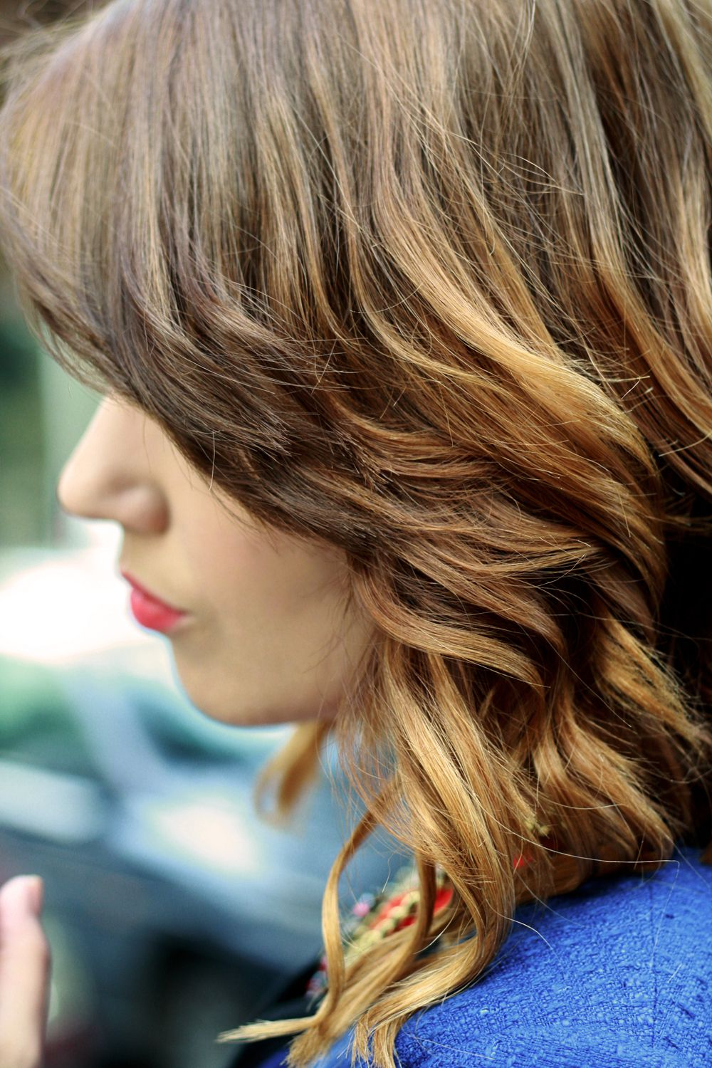 Capelli ombre hair