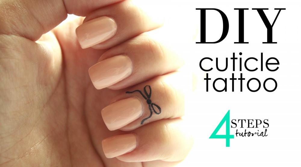 Tutorial tatuaggio cuticole