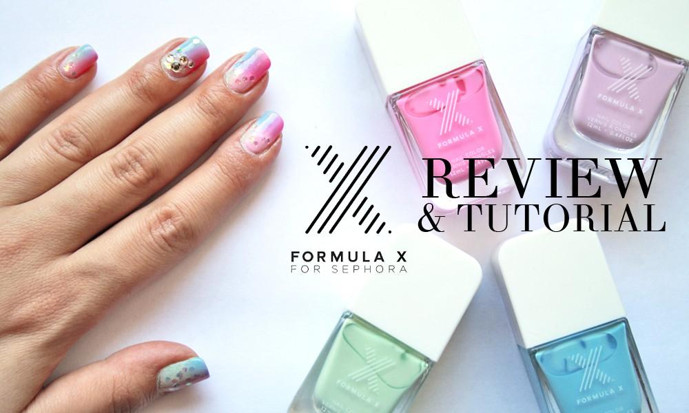 FORMULA X per Sephora