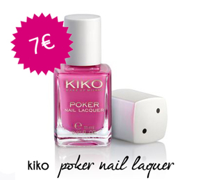 Kiko Poker nail laquer