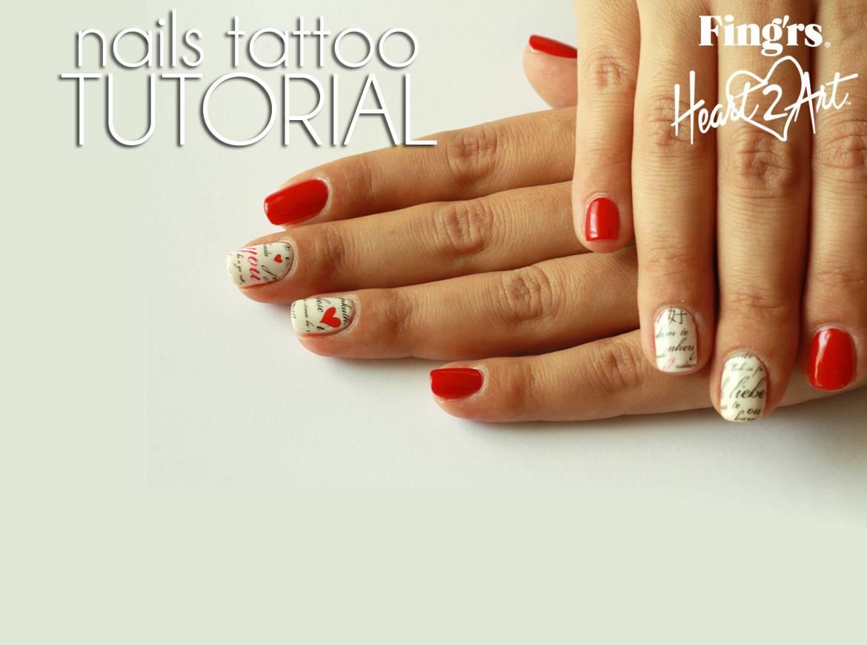 Tatuaggi per unghie