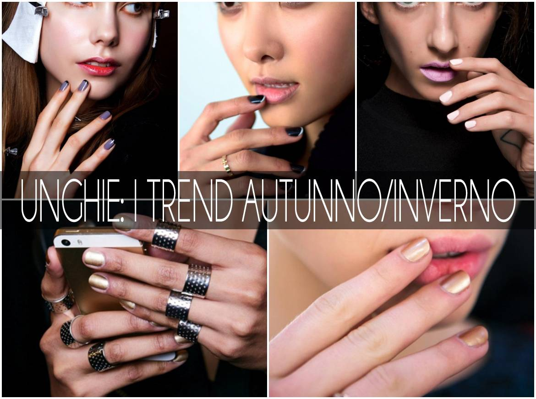 unghie trend autunno/inverno