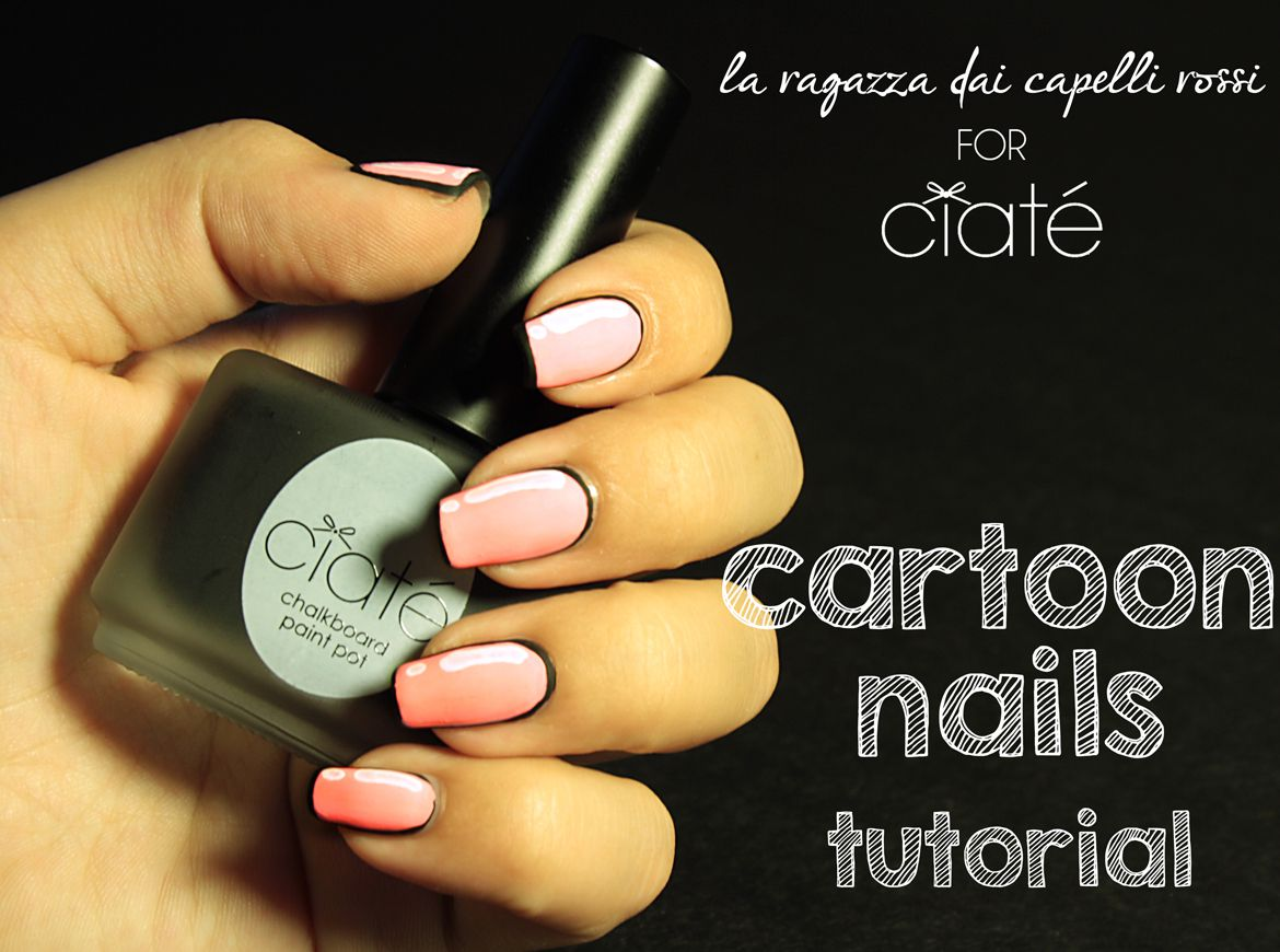 Cartoon nails tutorial