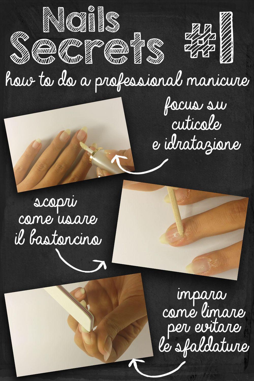 tutorial manicure professionale