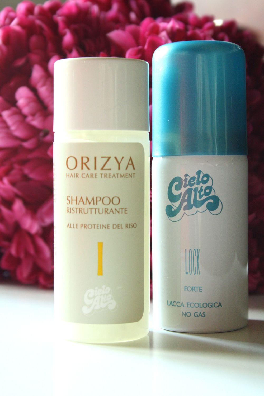 Shampoo e lacca