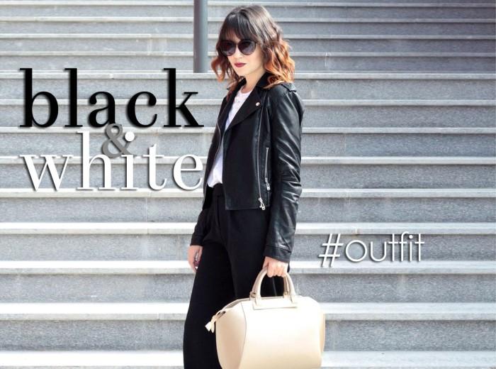BLACK & WHITE: OUTFIT DA UFFICIO