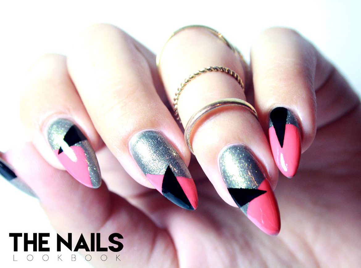 Tutorial Geometric nail art