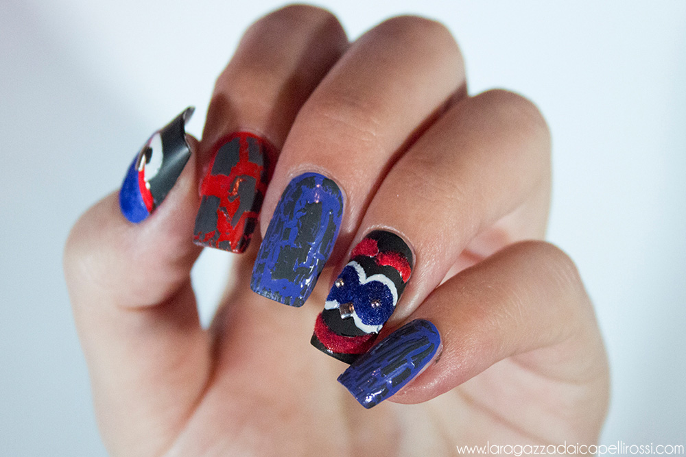 FENDI MONSTERS NAIL ART