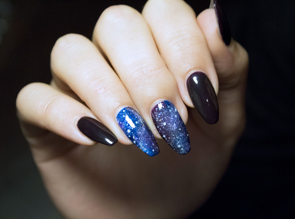 Preferenza TUTORIAL: GALAXY NAILS WC27