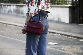 OUTFIT: CHIODO A FIORI E MINI BAG