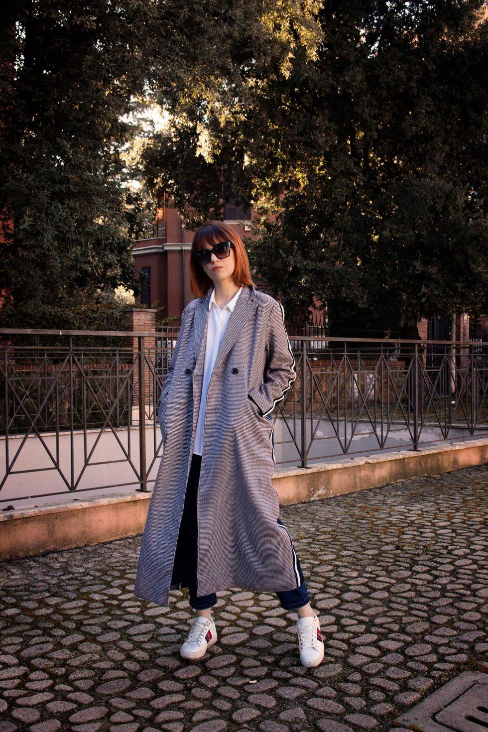 Federica Cimetti La Ragazza dai Capelli Rossi - Outfit Cappotto Shein