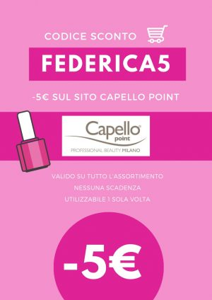 codice sconto Capello Point 2019