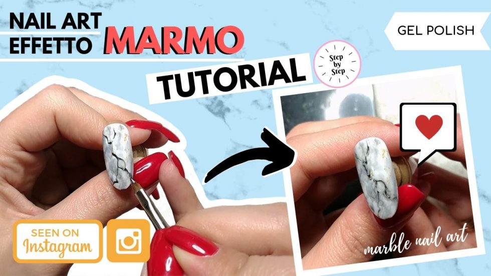 TUTORIAL UNGHIE EFFETTO MARMO (MARBLE NAIL ART)