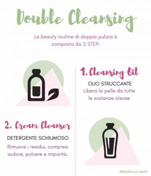 DOUBLE CLEANSING ROUTINE