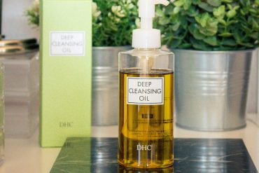 REVIEW   DHC DEEP CLEANSING OIL