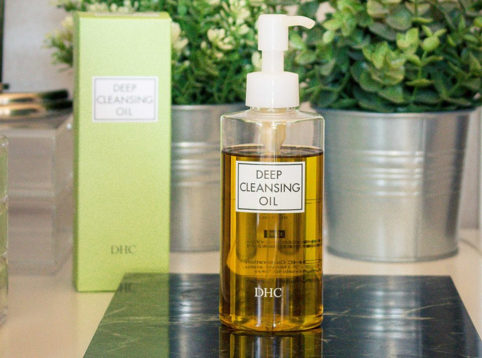 REVIEW | DHC DEEP CLEANSING OIL