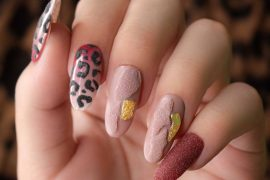 TUTORIAL NAIL ART ANIMALIER EFFETTO RUVIDO